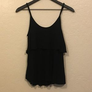 Forever 21 Black Tank Small